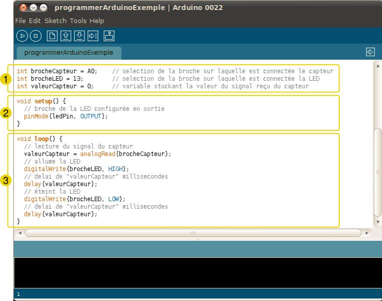 how to write arduino code