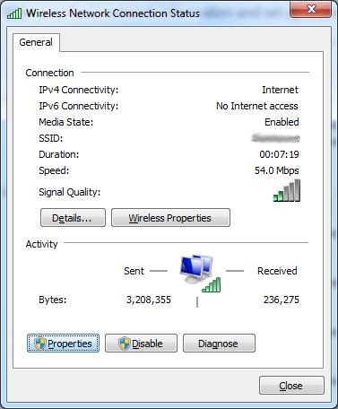 Censure du net voici comment continuer visiter les for Fenetre dos windows 7