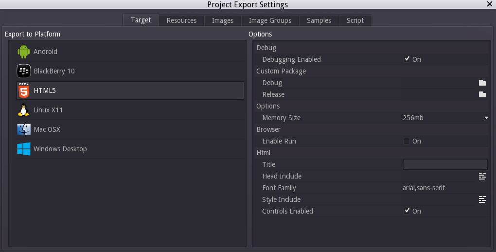 chapter: Export-Your-Game / Creating Point and Click Games